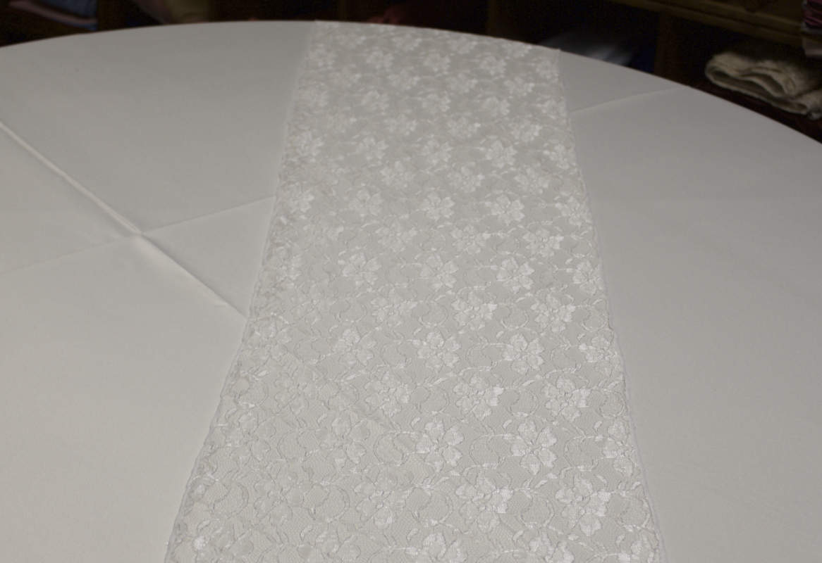 White Lace Runner Image