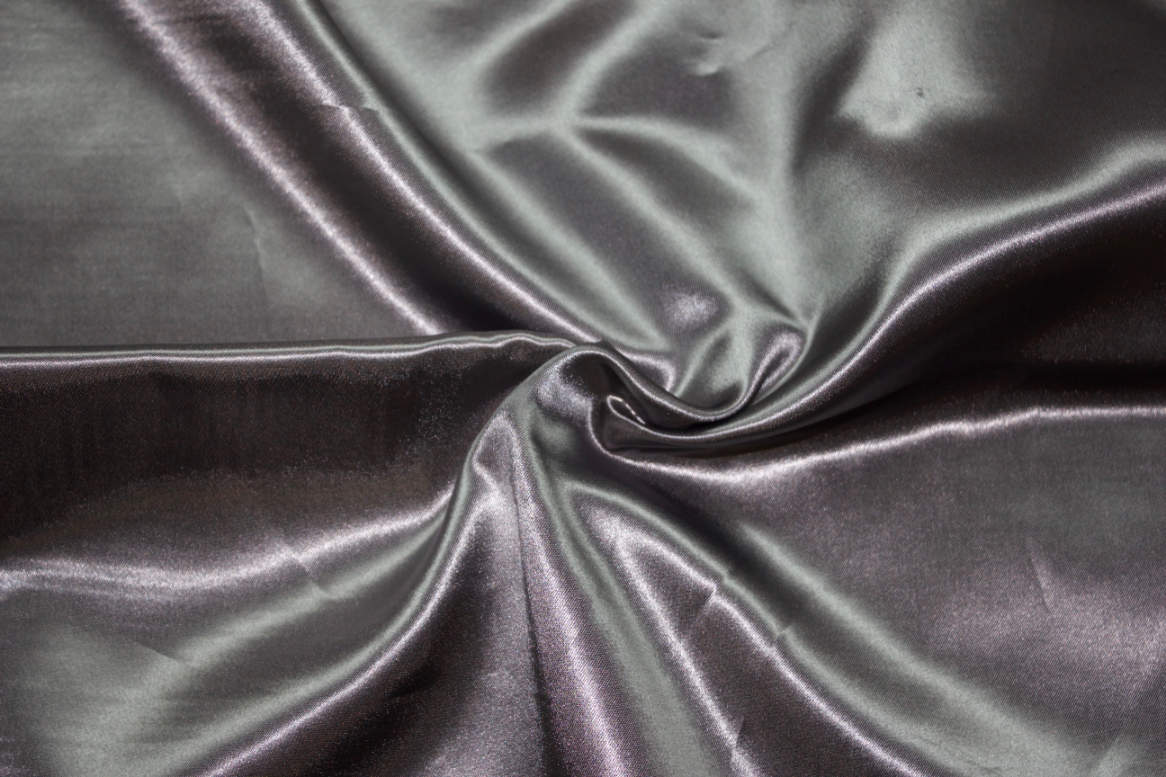 Charcoal Double Sided Satin Napkins Image