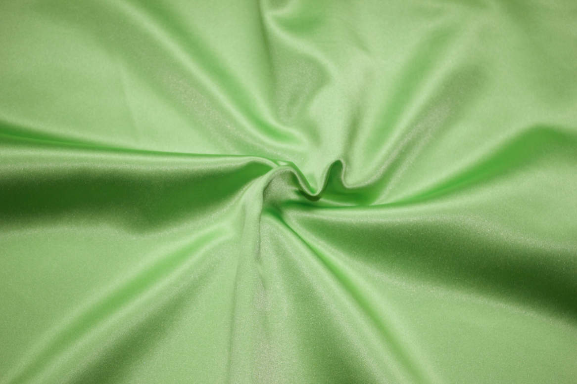 Lime Green Double Sided Satin Napkins Image