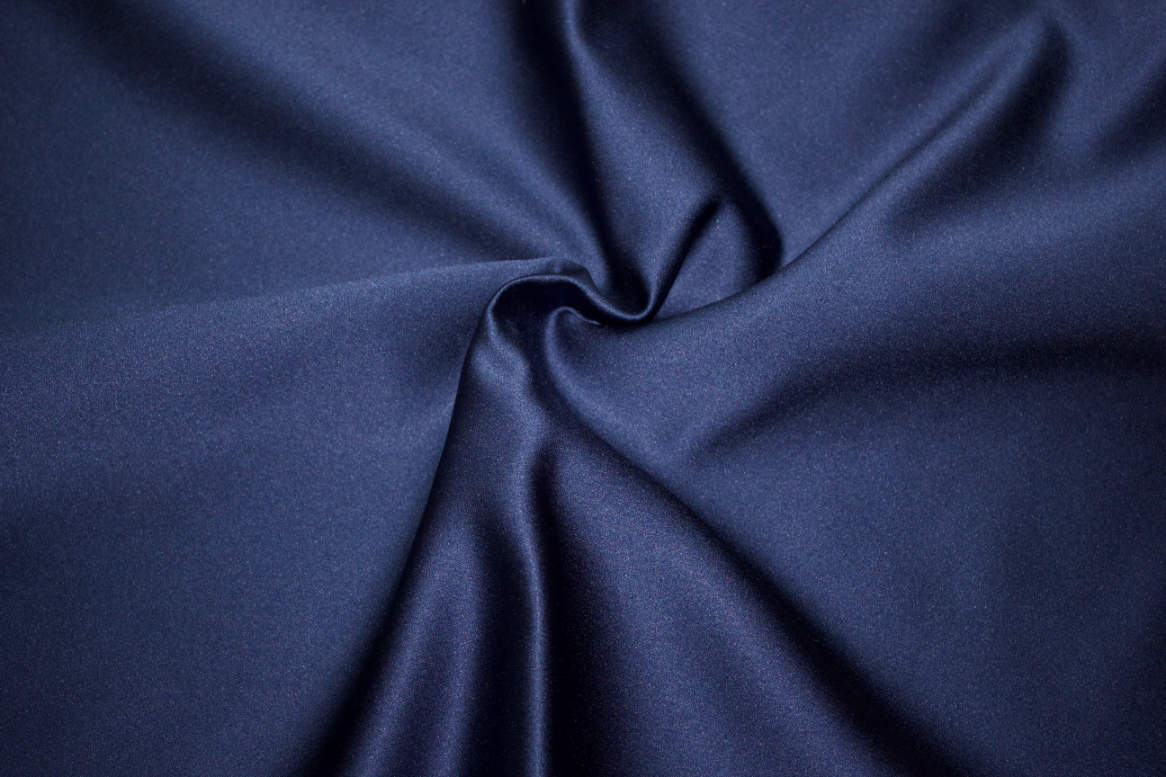 Navy Double Sided Satin Napkins Image