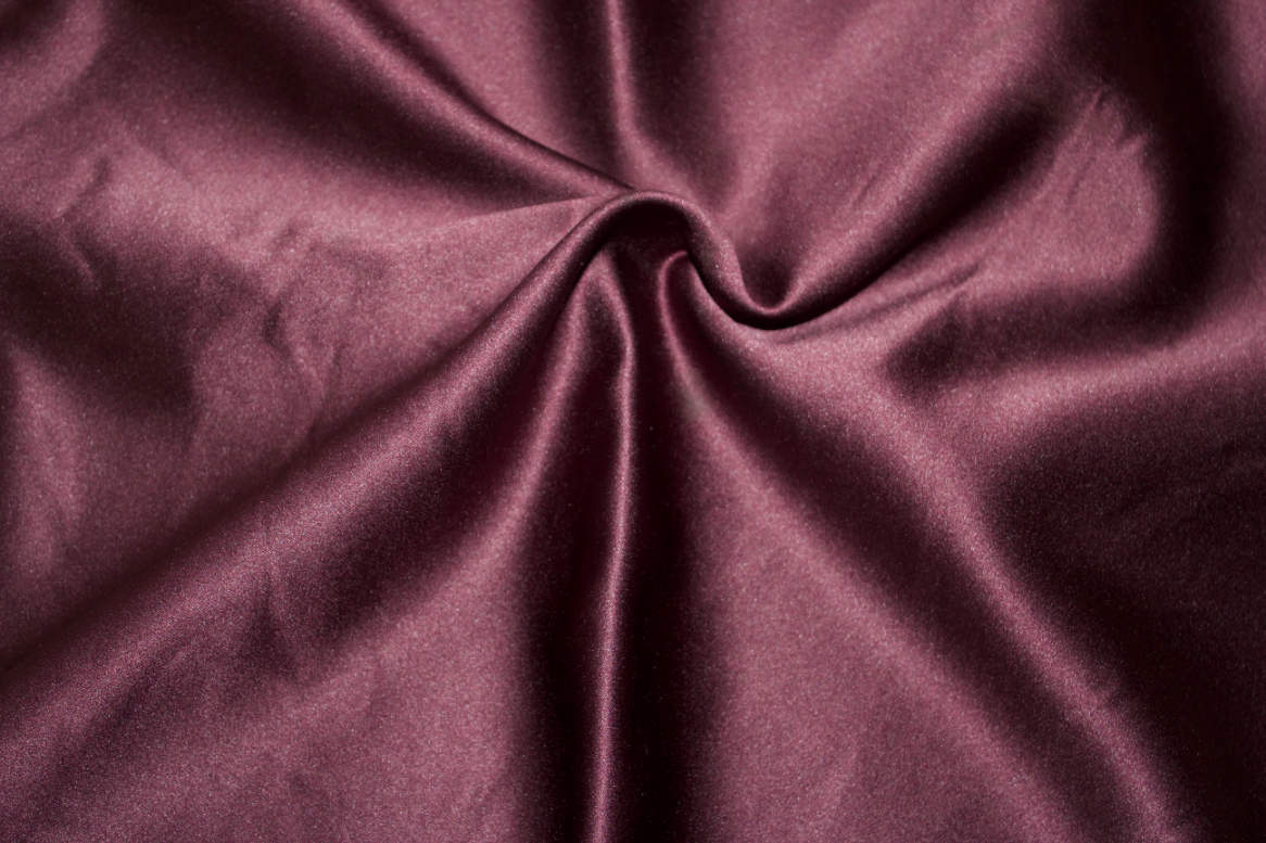 Plum Double Sided Satin Napkins Image