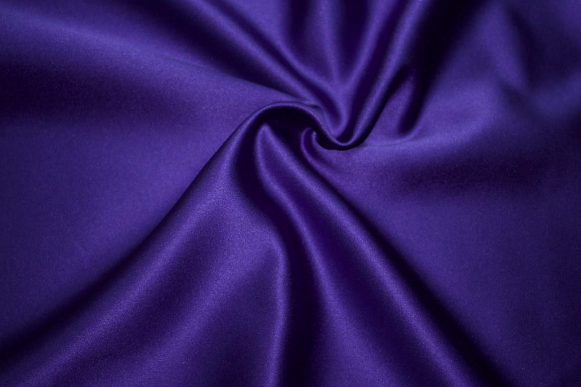 Purple Double Sided Satin Napkins Image