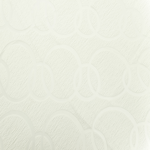 White Apollo Lace and Sheer Full Length Table Cloth Image