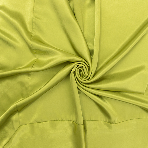 Avocado Green Satin Image