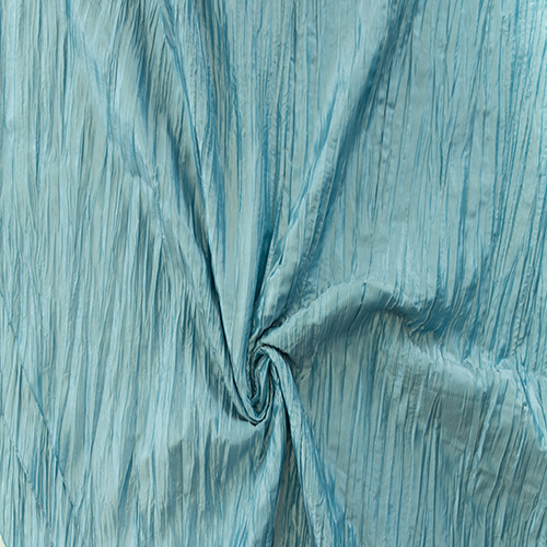 Baby Blue Crushed Taffeta Image
