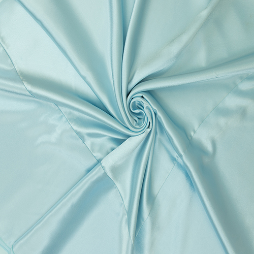 Baby Blue Satin Solid Overlay Image