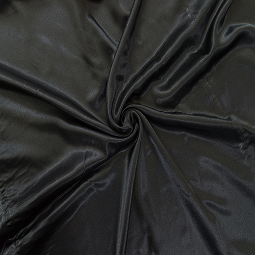 Black Satin Solid Collection Table Cloth Image