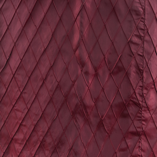 Burgundy Pintuck Solid Collection Table Cloth Image