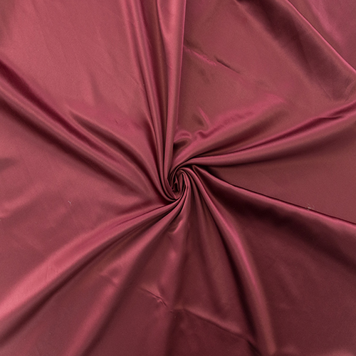 Burgundy Satin Solid Collection Table Cloth Image