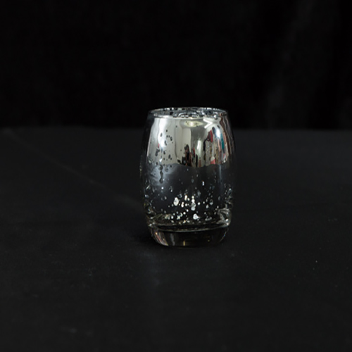 Silver Mercury Glass Votive Image