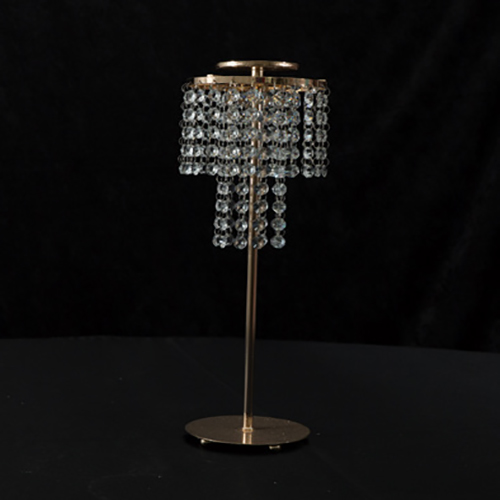 "Gold Crystal Ball Stand 31"" Image"