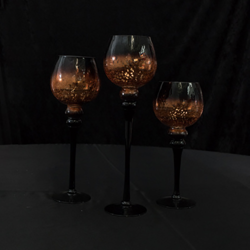 Gold/Black Candel Trio Image