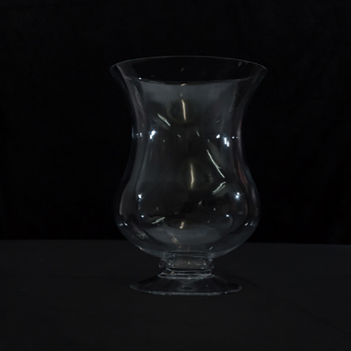 Footed Hurricane Vase Image