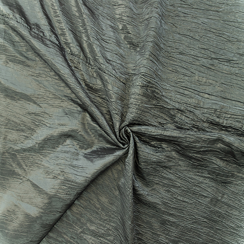 Charcoal Crushed Taffeta Image