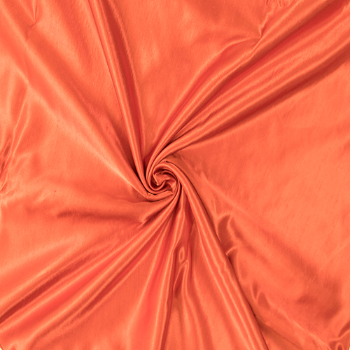 Dark Organge Satin Solid Collection Table Cloth Image