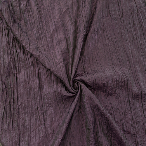 Dark Plum Crushed Taffeta Image