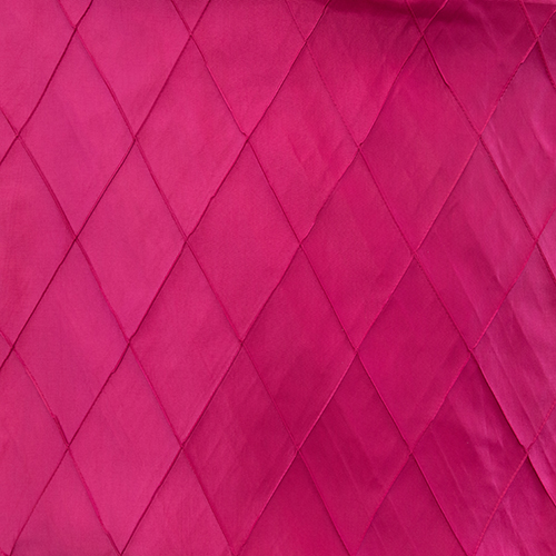 Fuchsia Pintuck Solid Collection Table Cloth Image