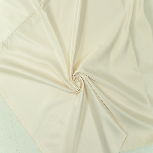 Ivory Satin Solid Collection Table Cloth Image