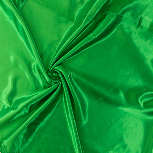 Kelly Green Satin Solid Collection Table Cloth Image