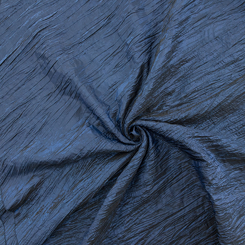 Navy Crushed Taffeta Image