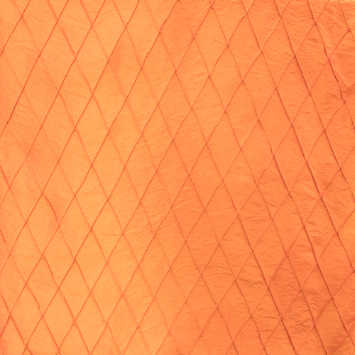 Orange Pintuck Solid Collection Table Cloth Image