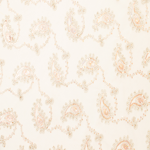 Champagne Paisley Image