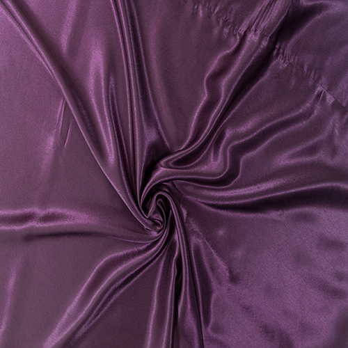 Plum Satin Solid Collection Table Cloth Image