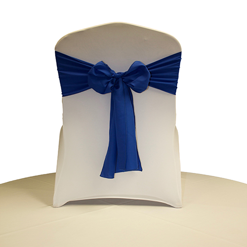 Royal Blue Polyester Sash Image