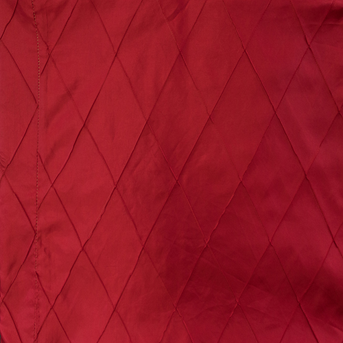 Red Pintuck Solid Collection Table Cloth Image