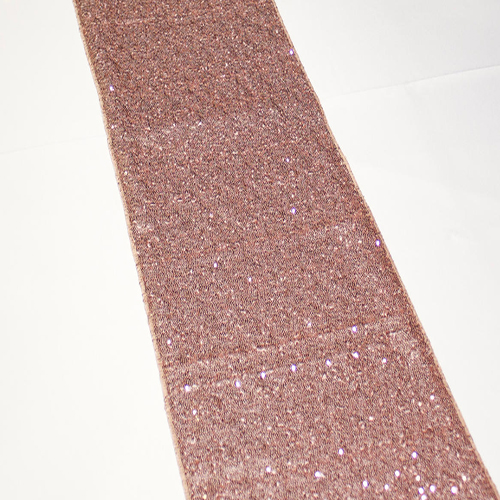 Rose Gold Sequin Runner Image