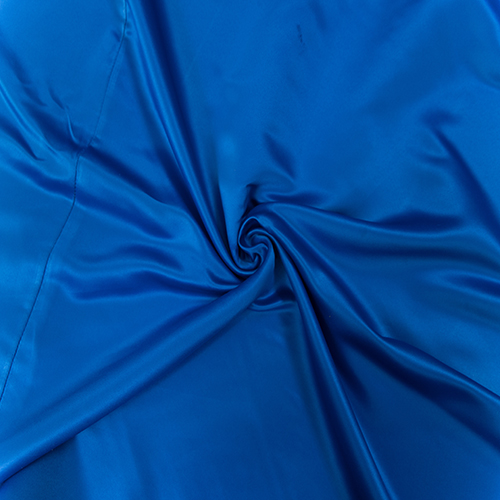 Royal Blue Satin Solid Collection Table Cloth Image