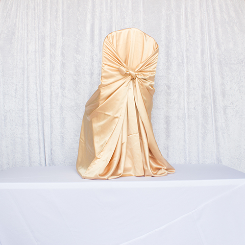 Gold Satin Self Tie Image