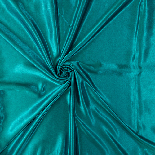 Teal Satin Solid Collection Table Cloth Image