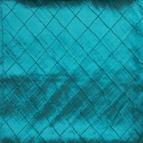 Teal Pintuck Solid Overlay Image
