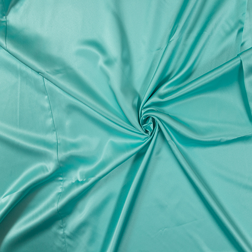 Tiffany Blue Satin Solid Collection Table Cloth Image