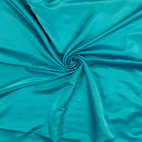 Turquoise Satin Solid Collection Table Cloth Image