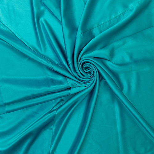Turquoise Satin Solid Overlay Image