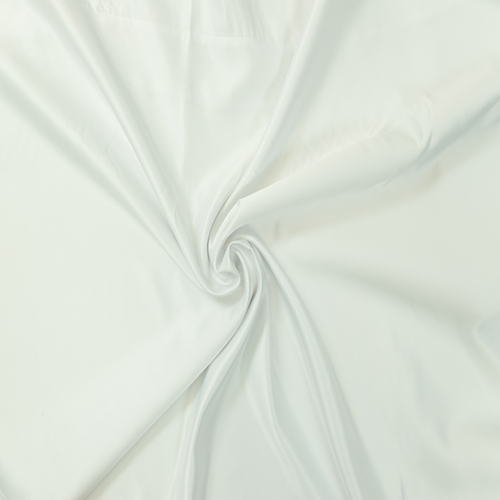 White Polyester Solid Collection Table Cloth Image