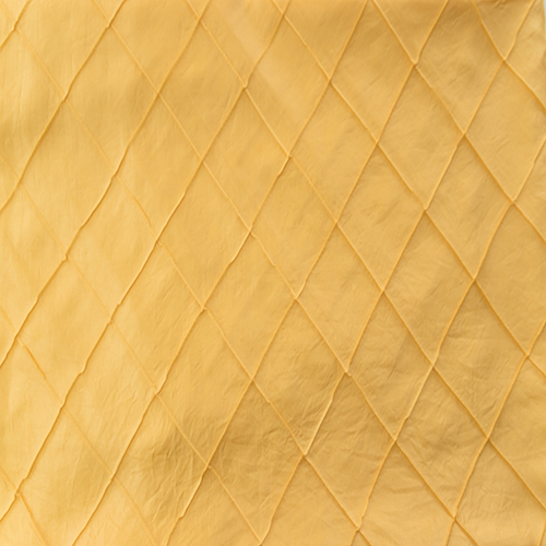 Yellow Pintuck Solid Collection Table Cloth Image