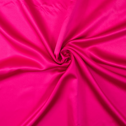 Cerise Satin Solid Collection Table Cloth Image