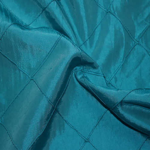 Teal Pintuck Double Sided Napkins Image
