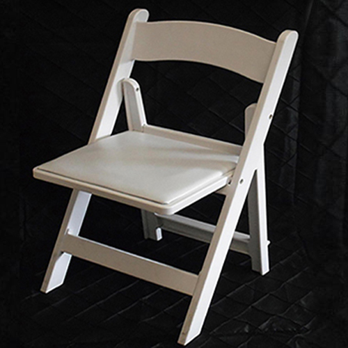 White Garden Chair Image
