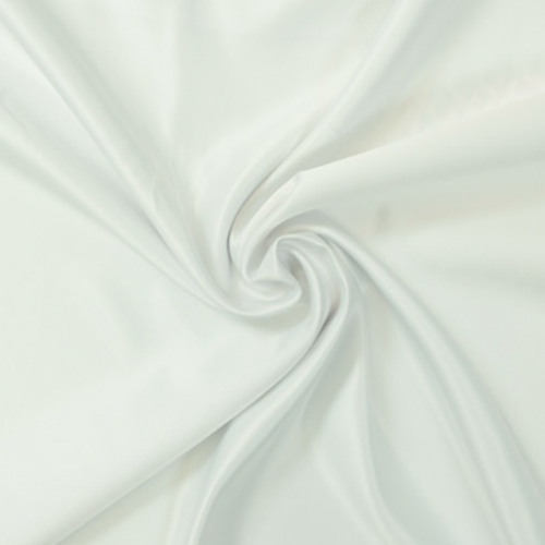 White Satin Solid Collection Table Cloth Image