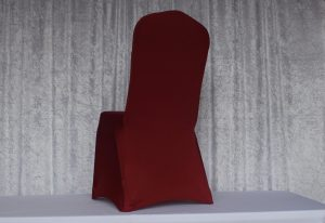 Apple-Red-Spandex-Chair-Cover
